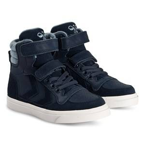 Hummel Stadil Winter High Jr Sneakers Black Iris Lasten kengt 32 EU