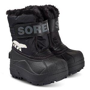 Sorel Toddler Snow Commander Boots Black/Charcoal Snow boots