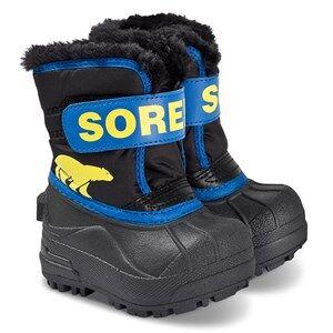 Sorel Toddler Snow Commander Boots Black/Super Blue Snow boots