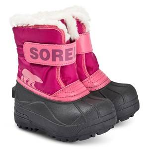 Sorel Toddler Snow Commander Boots Tropic Pink/Deep Blush Snow boots