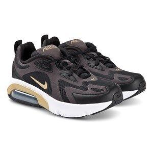 NIKE Air Max 200 Sneakers Black/Gold Lasten kengt 38 (UK 5)