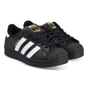 adidas Originals Superstar Sneakers Black Lasten kengt 28 (UK 10.5)