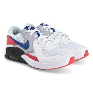 NIKE Air Max Excee Sneakers White and Hyper Blue Lasten kengt 38 (UK 5)