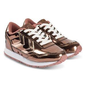Hummel Reflex Bubblegum Jr Sneakers Cedar Wood Lasten kengt 33 EU