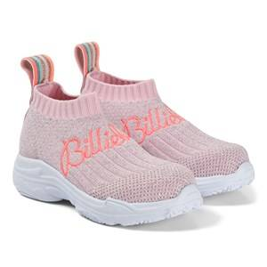 Billieblush Glitter Brand Sock Trainer Pink Lasten kengt 35 (UK 2.5)