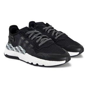 adidas Originals Nite Jogger Sneakers Black Lasten kengt 37 1/3 (UK 4.5)