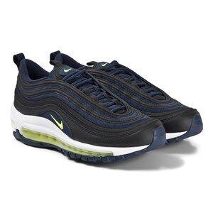 NIKE Air Max 97 Sneakers Black/Lemon Venom Lasten kengt 39.5 (UK 6.5)