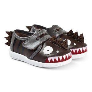 Emu Australia Dinosaur Sneakers Espresso Lasten kengt 33-34 (UK 1)