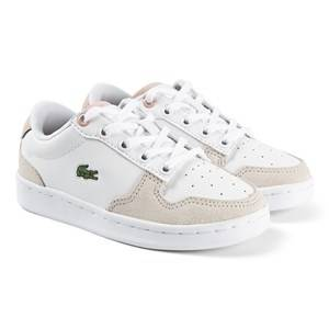 Lacoste Master Cup Sneakers White/Nature Lasten kengt 33 (UK 1)