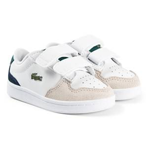 Lacoste Master Cup Infants Sneakers White/Green Lasten kengt 21 (UK 5)