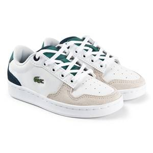 Lacoste Master Cup Sneakers White/Green Lasten kengt 32 (UK 13)