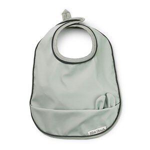 Elodie Baby Bib - Mineral Green Aprons, bibs and smocks