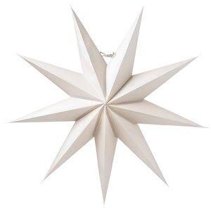 Watt & Veke Boris Advent Star 70 cm Light Grey