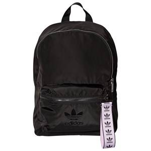 adidas Originals Trefoil Logo Nylon Backpack Black Backpacks