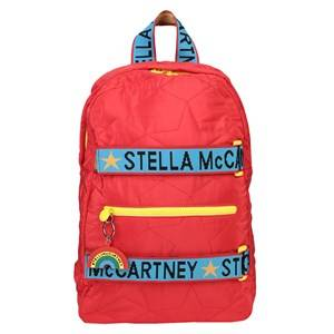 Stella McCartney Kids Quilted Stars Backpack Red Backpacks