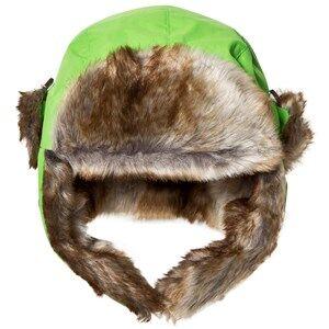 Isbjrn Of Sweden Squirrel Winter Cap Green Trapper hats