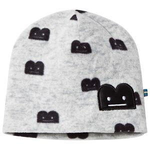 The BRAND B-Moji Fleece Hat Grey Melange Beanies