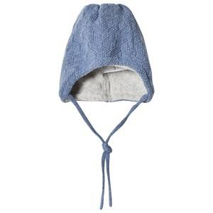 Maximo Baby Wool Hat Denim Blue Beanies