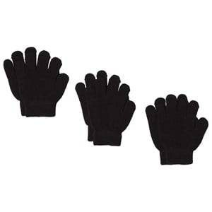 Image of Lindberg sbro Gloves 3-pack Black Wool gloves and mittens