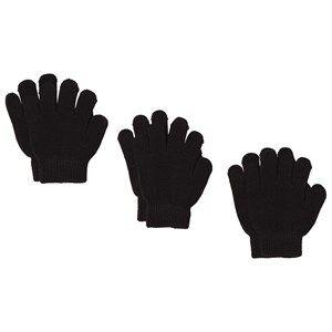 Image of Lindberg sbro Gloves 3-pack Black Wool gloves and mittens