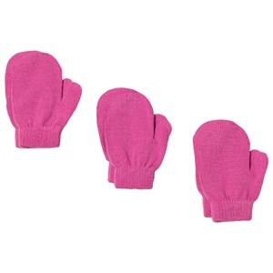 Lindberg sbro Mittens 3-pack Pink Wool gloves and mittens