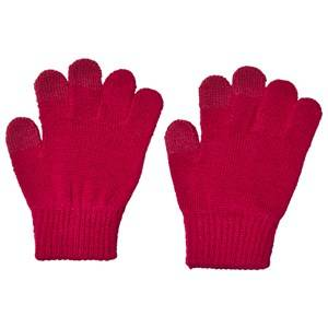 Reima Rimo Knitted Gloves Cranberry Pink Wool gloves and mittens