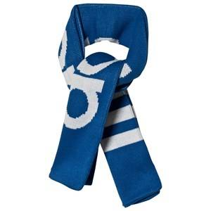 adidas Originals Blue Branded Scarf Knitted scarves