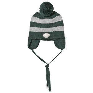 Lillelam Hat Stripes Green Beanies