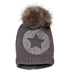 Ticket to heaven Bobble Hat Anthrazit Melange Grey Beanies