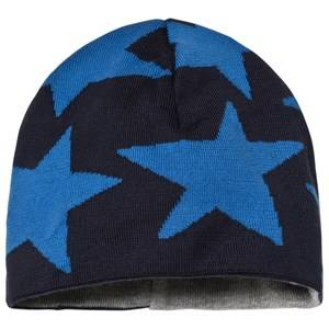 Ticket to heaven Short Knit Hat Total Eclipse Blue Beanies
