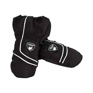Image of Lindberg Limhamn Mittens Black Wool gloves and mittens