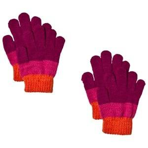 Lindberg 2-Pack Brattfors Gloves Deep Orchid/Cerise Wool gloves and mittens