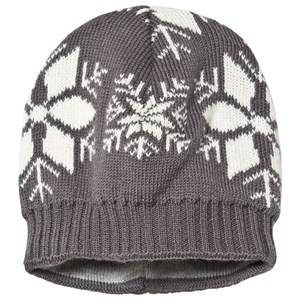 Ticket to heaven Short Knit Hat Castlerock Grey Beanies