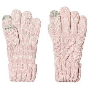 GAP Pink Dust Cable Knit Gloves Wool gloves and mittens