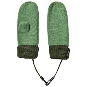 Didriksons Kit Mittens Lichen Green Wool gloves and mittens