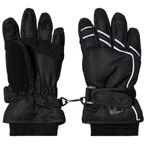 Lindberg Salberg Gloves Black Ski gloves and mittens