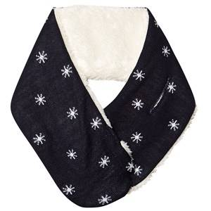 Image of Petit Bateau Escarpet Scarf Navy Knitted scarves
