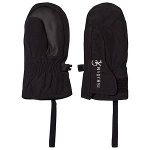 Image of Isbjrn Of Sweden Baby Mittens Black Ski gloves and mittens