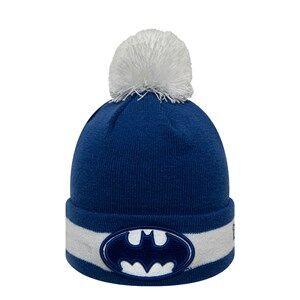 New Era Batman Pom-Pom Beanie Blue Beanies