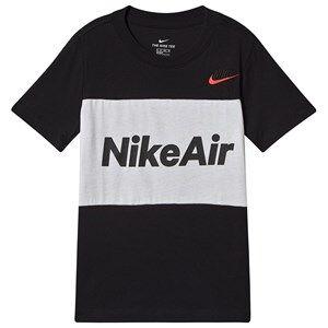 NIKE Nike Air T-Shirt Black S (8-10 years)