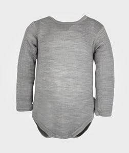 Joha Unisex Childrens Clothes All in ones Grey Long Sleeved Baby Body Grey