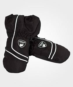 Image of Lindberg Unisex Childrens Clothes Gloves and mittens Black LIMHAMN MITTEN, BLACK