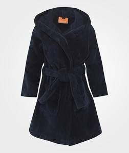 Lindberg Unisex Childrens Clothes Nightwear Blue Orbaden Bathrobe Navy