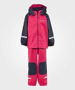 Didriksons Unisex Childrens Clothes Clothing sets Pink Stormman Kids Set Bubble Gum
