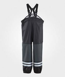 Lindberg Unisex Childrens Clothes Bottoms Black Stocksund Rain Pants Black