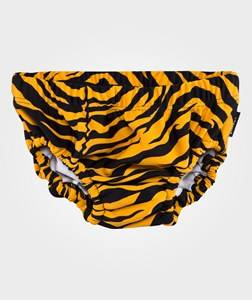 Lindberg Unisex Childrens Clothes Swimwear and coverups Orange Animal Swim Diaper Orange/Black