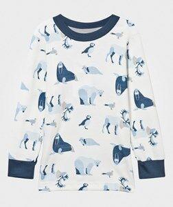 Joha Girls Childrens Clothes Tops Blue Arctic Zone T-Shirt Blue Multi