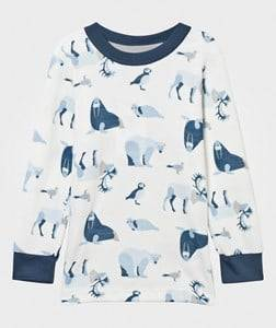 Joha Girls Childrens Clothes Tops Blue Arctic Zone T-Shirt Blue Multi