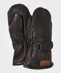 Image of Lindberg Unisex Childrens Clothes Gloves and mittens Black Classic Mitten Wool Black