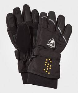 Image of Lindberg Unisex Childrens Clothes Gloves and mittens Black Sveg Glove Black